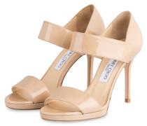 Lack-Sandaletten ALANA