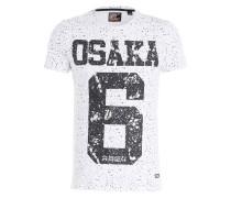 T-Shirt OSAKA - schwarz/ weiss