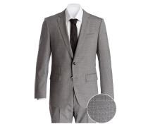 Anzug HUGE6/GENIUS4 Slim-Fit - grau