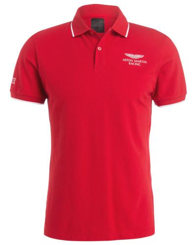 Piqué-Poloshirt aus der ASTON MARTIN RACING KOLLEKTION
