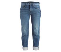 Cropped-Jeans FREE - blau