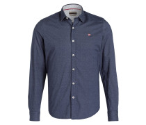 Hemd GISBORNE Slim-Fit - navy