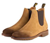 Chelsea-Boots - ocker