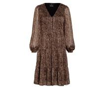 Kleid mit Glitzergarn
