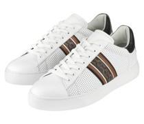 Sneaker DAVID 48A - WEISS/ BRAUN