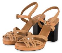 Sandaletten - GRANO/ CUOIO