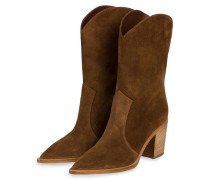 Cowboy Boots - HELLBRAUN