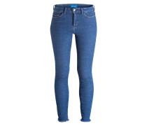 Skinny-Jeans BODYCON - blau