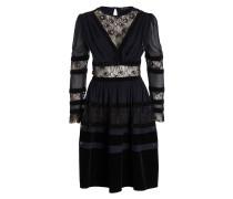 Kleid - dunkelblau/ schwarz