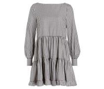 Kleid ANNA - schwarz/ weiss