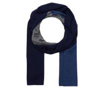 Schal - blau/ dunkelblau/ grau