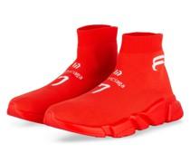 Hightop-Sneaker SPEED - ROT/ WEISS