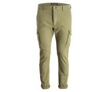 Cargohose DAVE Tapered-Fit - grün