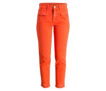 Jeans PEDAL PUSHER - orange