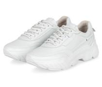Plateau-Sneaker BOOM - WEISS