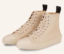 Hightop-Sneaker COURT - CREME