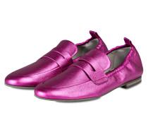 Loafer TARA - magenta metallic