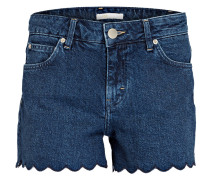 Jeans-Shorts SHAFT - denim blue