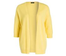 Cashmere-Strickhülle - gelb