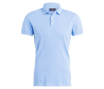 Piqué-Poloshirt TIMO Modern-Fit - hellblau