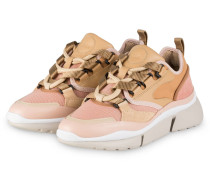Plateau-Sneaker SONNIE - DELICATE PINK