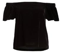 Off-Shoulder-Shirt - schwarz