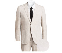 Anzug JANON/LENON Regular-Fit aus Leinen