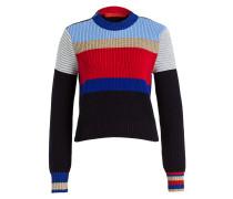 Pullover MOTO - schwarz/ rot/ blau