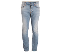 Jeans GRIM TIM Slim Regular-Fit - blau