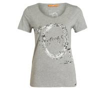 T-Shirt TASHIRTI - grau meliert