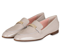 Lack-Loafer - grau