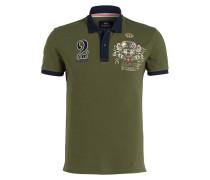 Piqué-Poloshirt ANTONIO - grün