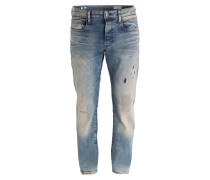 Destroyed-Jeans 3301 Slim-Fit