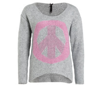Pullover BEVERLY - grau/ rosa