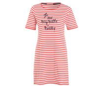 Nachthemd NICKI - rot/ weiss gestreift