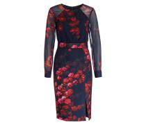 Kleid CALLIE - marine/ rot/ rosa