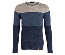 Pullover LESTER - dunkelblau/ grau
