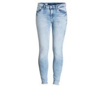 Skinny-Jeans COMO - coral blue