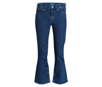 Cropped-Jeans MARTY - blau
