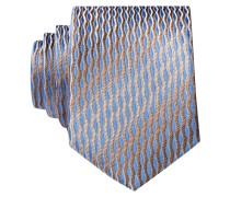 Krawatte - hellblau/ beige
