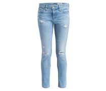 Destroyed-Jeans - yocd light blue
