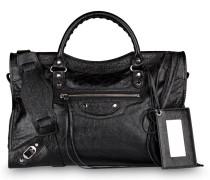 Handtasche CLASSIC SILVER CITY - schwarz