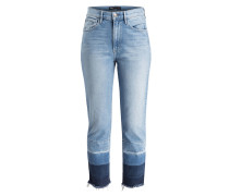 Girlfriend-Jeans SHELTER - blau