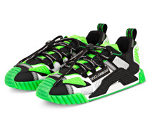 Sneaker SORRENTO - SCHWARZ/ GRÜN