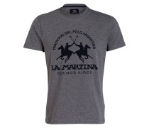 T-Shirt BARRET - grau meliert