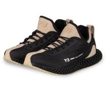 Sneaker Y-3 Runner 4D IO - SCHWARZ/ BEIGE