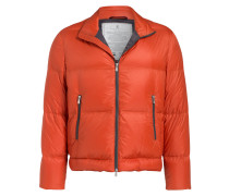 Daunenjacke - orange