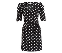 Kleid RELAX - schwarz/ weiss
