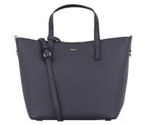 Saffiano-Shopper - navy