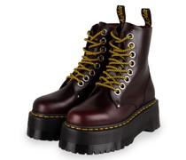 Plateau-Boots JADON MAX - DUNKELROT